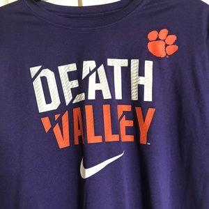 ebc77ace Nike Shirts | Go Tigers Clemson Death Valley T Size L | Poshmark